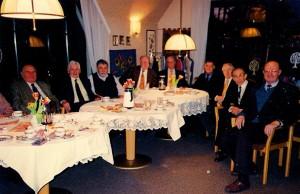 Foto zeigt die Herrenrunde