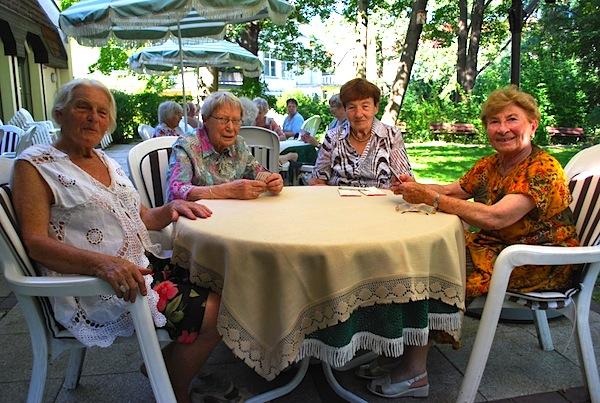 Foto zeigt die Interessengruppe Karten spielen